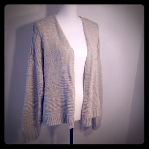 Universal Thread cardigan sweater, Gray, sz XL